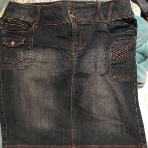 Bluejean skirt